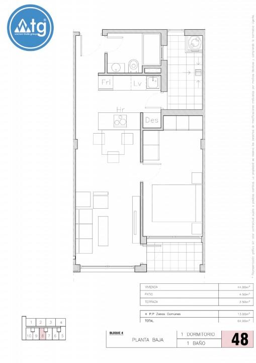 1 bedroom Apartment in Torrevieja - AGI6092 - 27