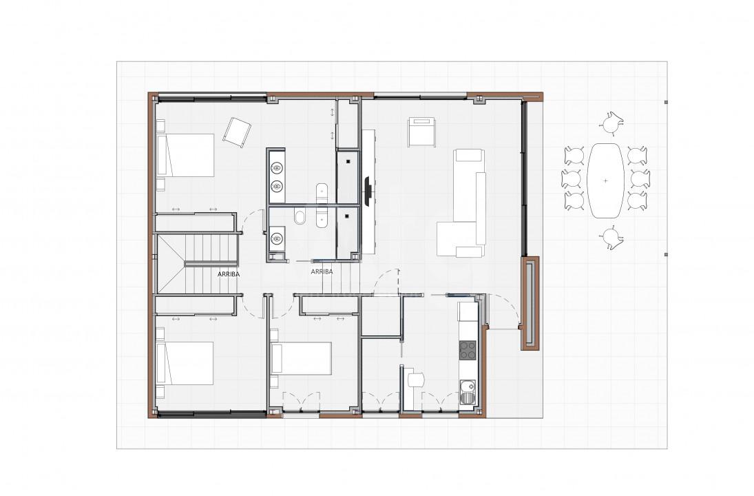 2 bedroom Bungalow in Torrevieja - US6855 - 8