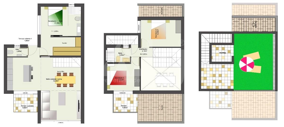 2 bedroom Duplex in Los Alcázares - SGN8677 - 4