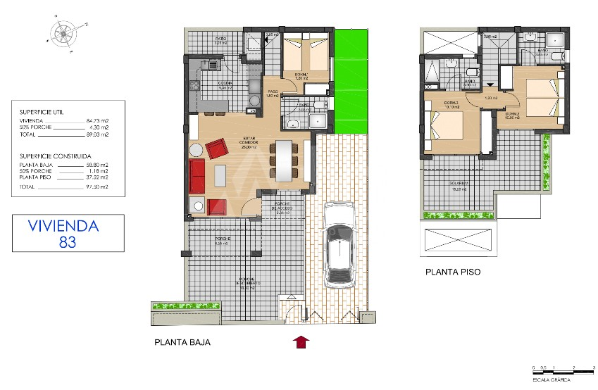 3 bedroom Townhouse in Torrevieja  - US115950 - 24
