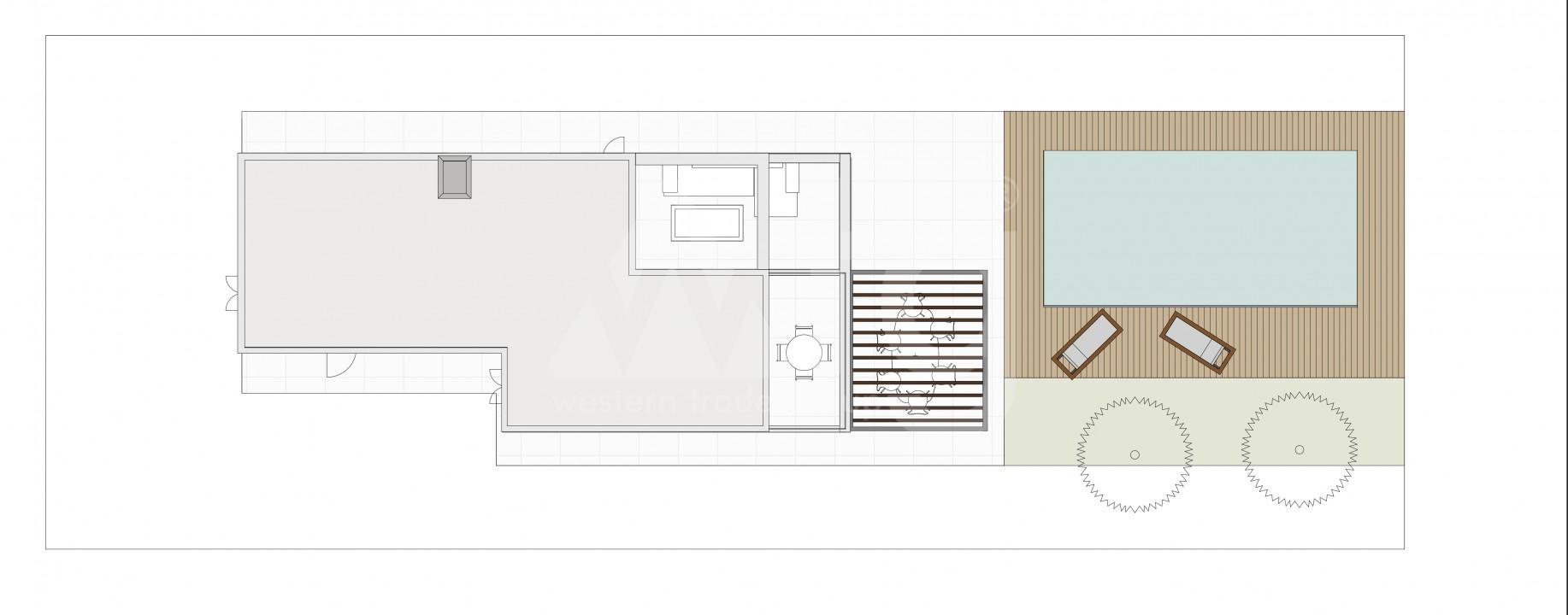 3 bedroom Townhouse in Torrevieja - US6862 - 11