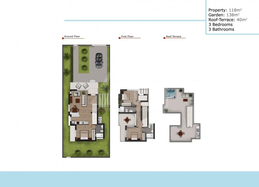 3 bedroom Duplex in Ciudad Quesada  - ER119750 - 23