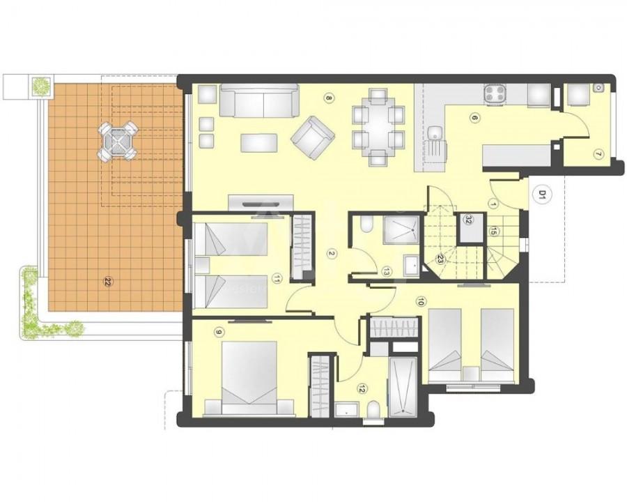 3 bedroom Townhouse in Torre de la Horadada  - W8206 - 8