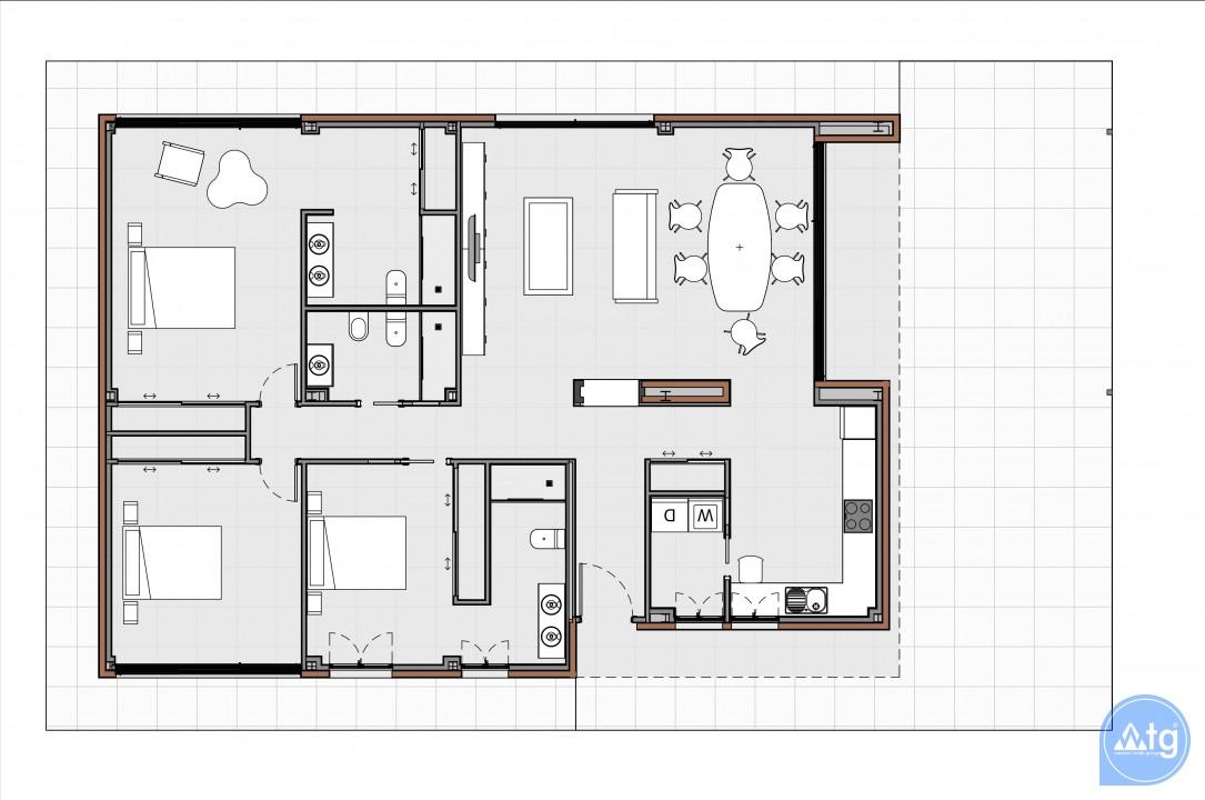 3 bedroom Townhouse in Torrevieja - US6857 - 8