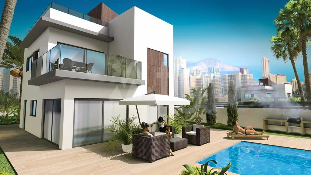 3 bedroom Villa in Finestrat - CG7656 - 2
