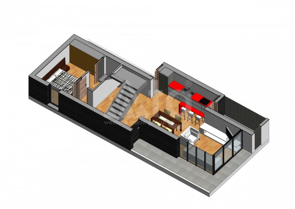 3 bedroom Villa in Los Alcázares - ASU10001 - 12