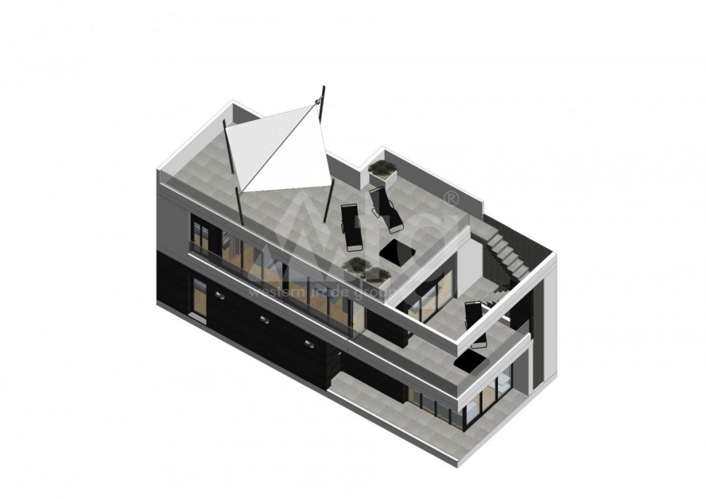 3 bedroom Villa in Los Alcázares - ASU10001 - 13