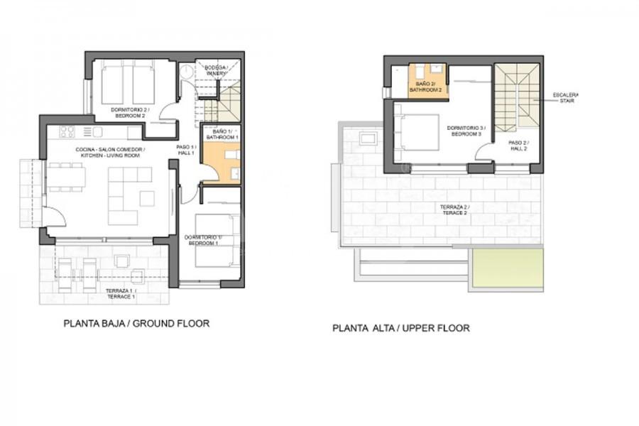 3 bedroom Villa in Los Montesinos - HE7380 - 11