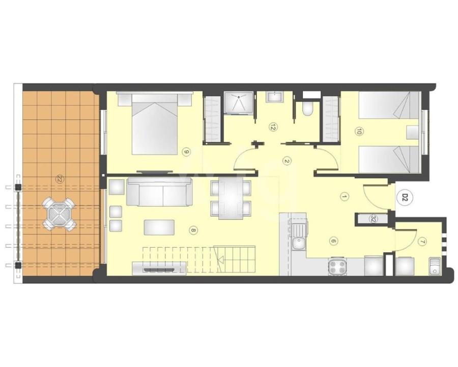 3 bedroom Villa in Rojales - GV8203 - 12
