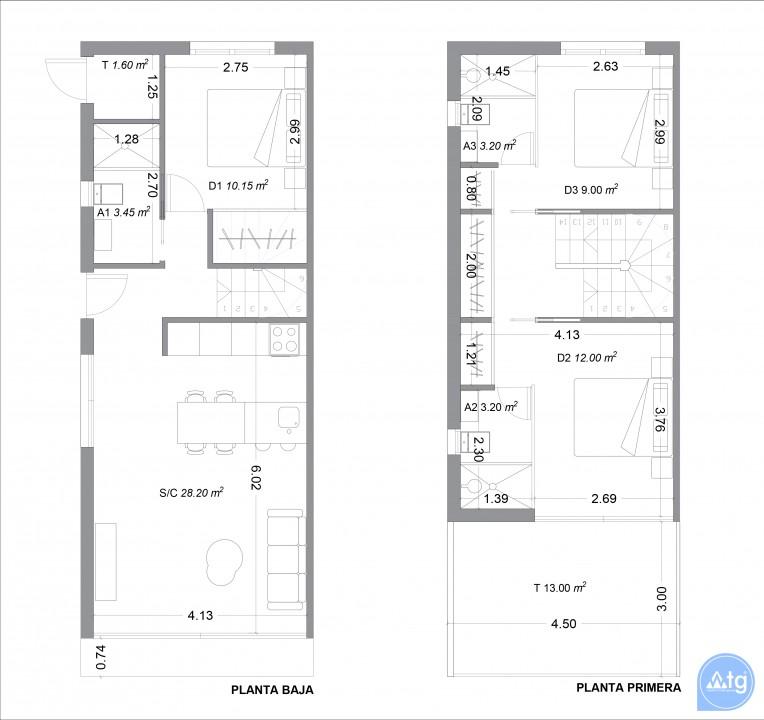 3 bedroom Villa in San Pedro del Pinatar  - GU1110557 - 37
