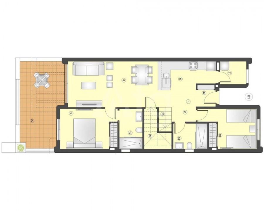 3 bedroom Villa in San Pedro del Pinatar - GU8207 - 7