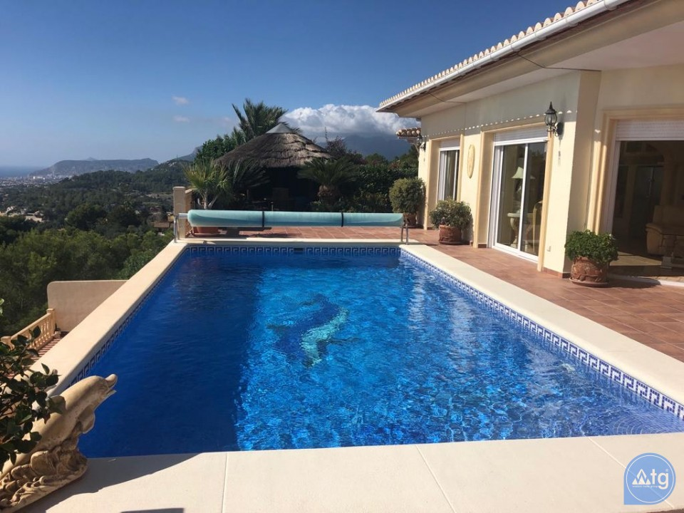 4 bedroom Villa in Moraira  - W119676 - 1