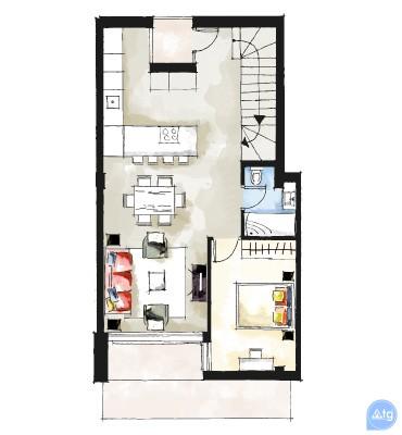 Apartamentos acogedores en Villamartin, Espana - OI114570 - 45