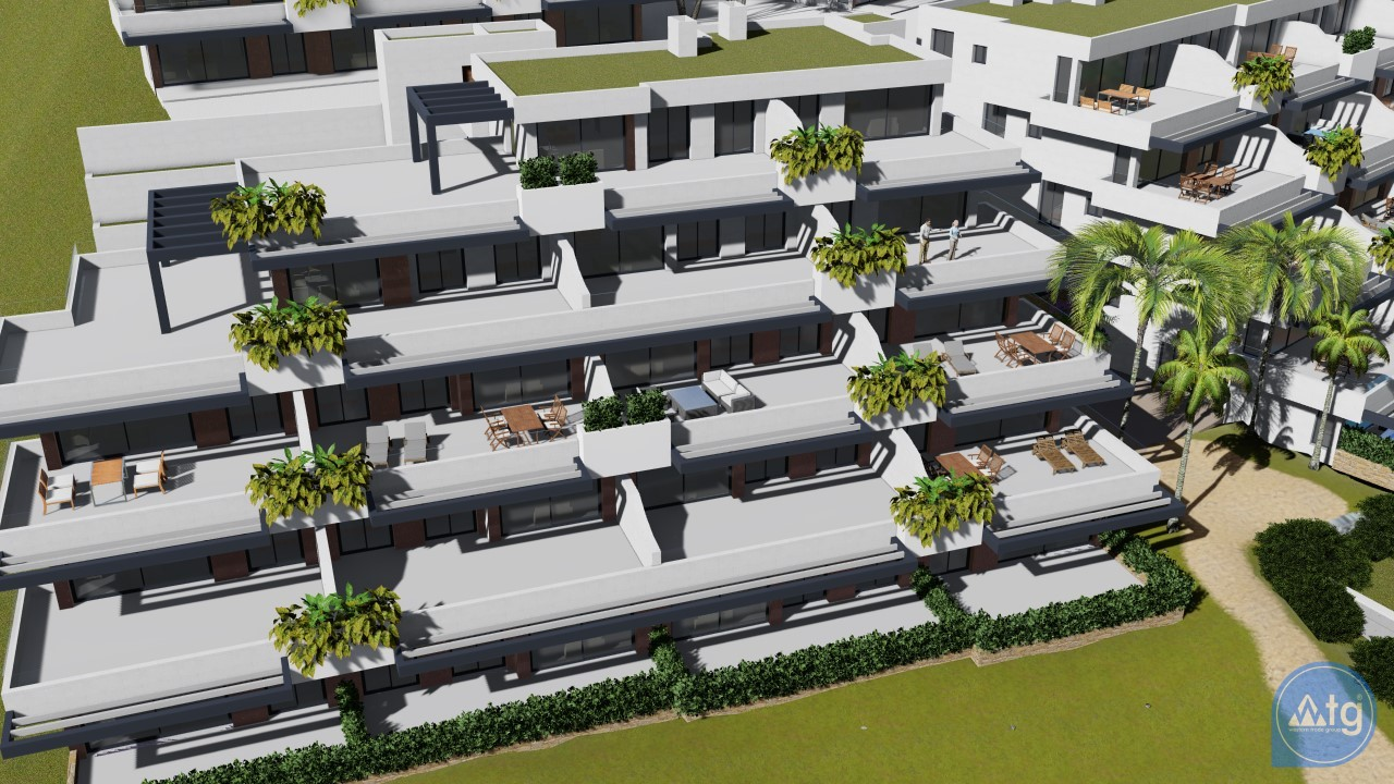 2 bedroom Apartment in Alicante - AG3516 - 1