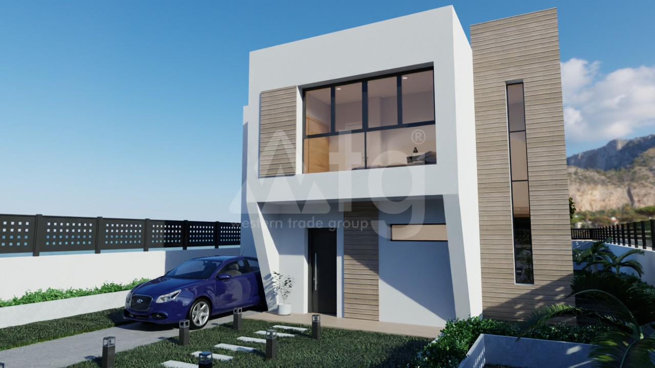 3 bedroom Apartment in Finestrat  - UBA116802 - 1