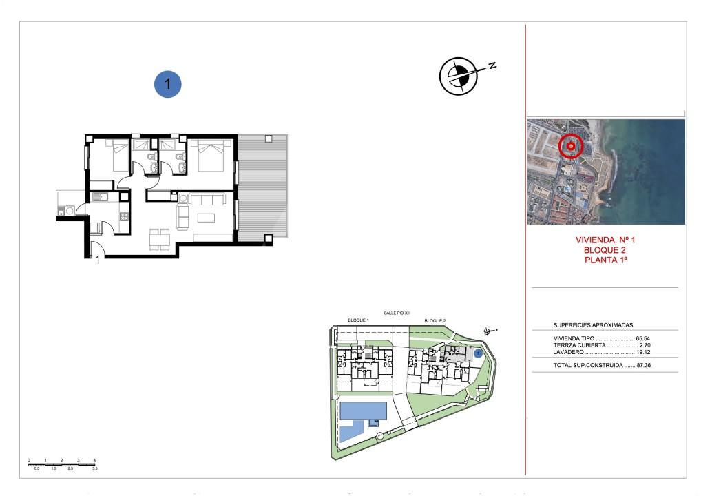 2 bedroom Apartment in La Manga - ER7108 - 5