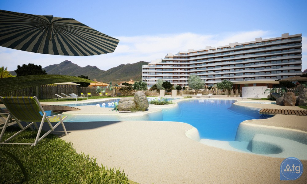 3 bedroom Apartment in La Manga  - UBA116869 - 1