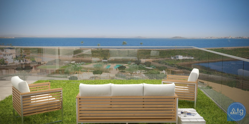 3 bedroom Apartment in La Manga  - UBA116869 - 10