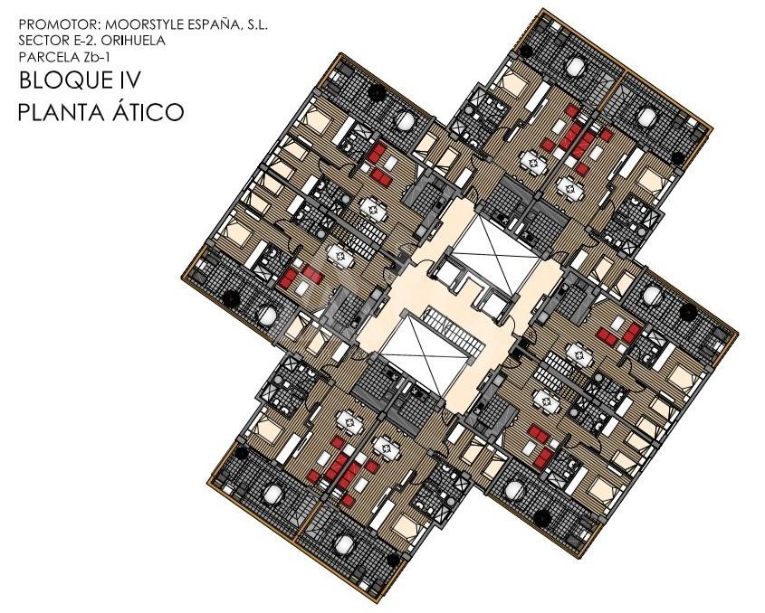 2 bedroom Apartment in La Zenia - US6823 - 18