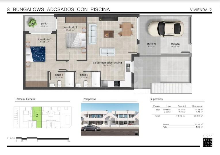 2 bedroom Apartment in San Pedro del Pinatar  - GU114770 - 23