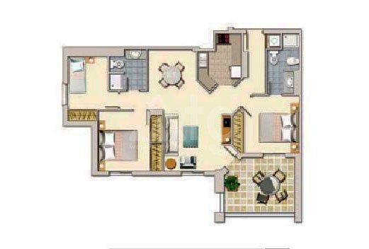 3 bedroom Apartment in Torrevieja  - W8703 - 23