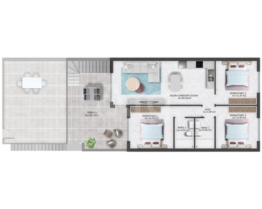 3 bedroom Apartment in Villamartin - NS8278 - 3