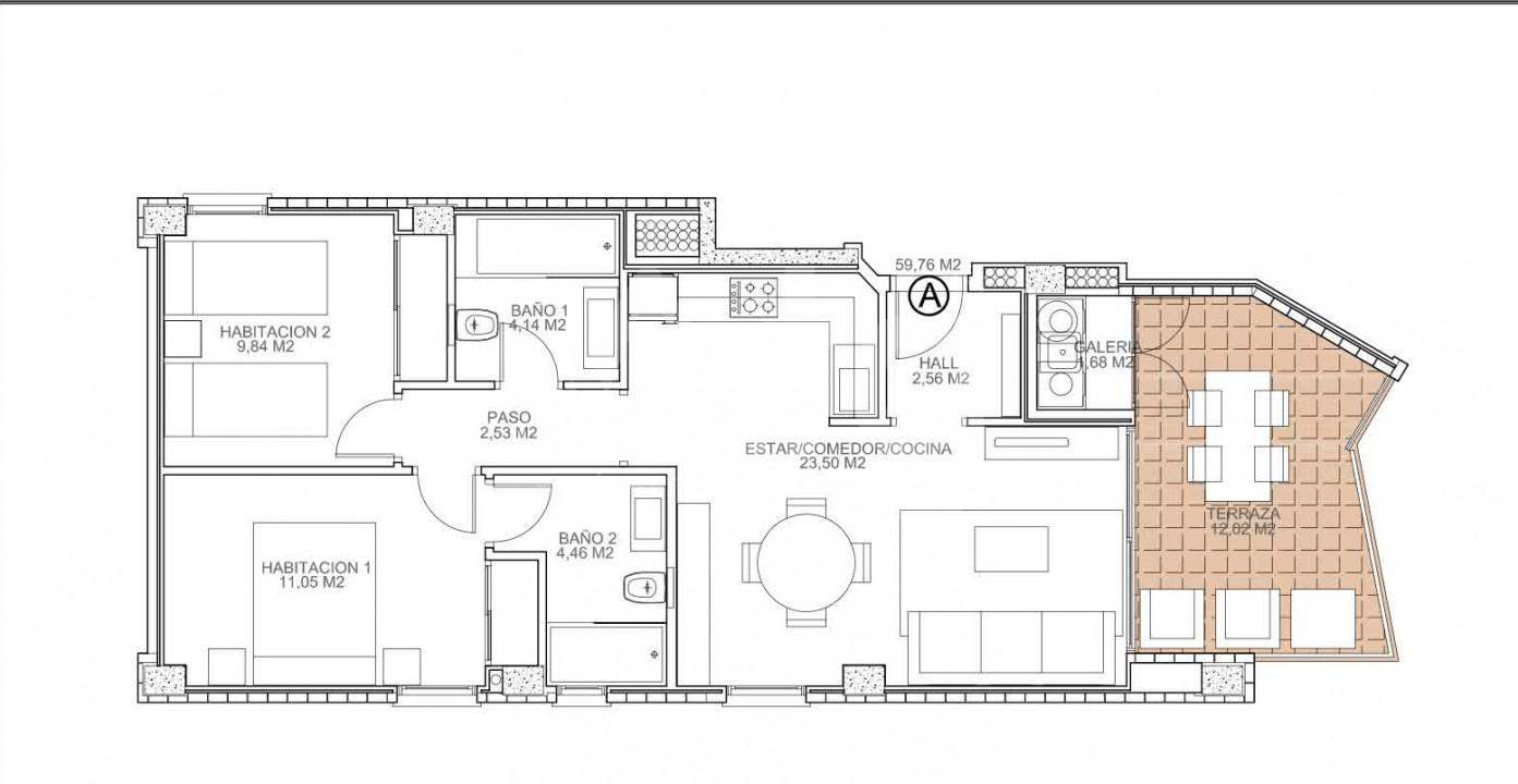 2 bedroom Apartment in Torrevieja  - VA114724 - 6