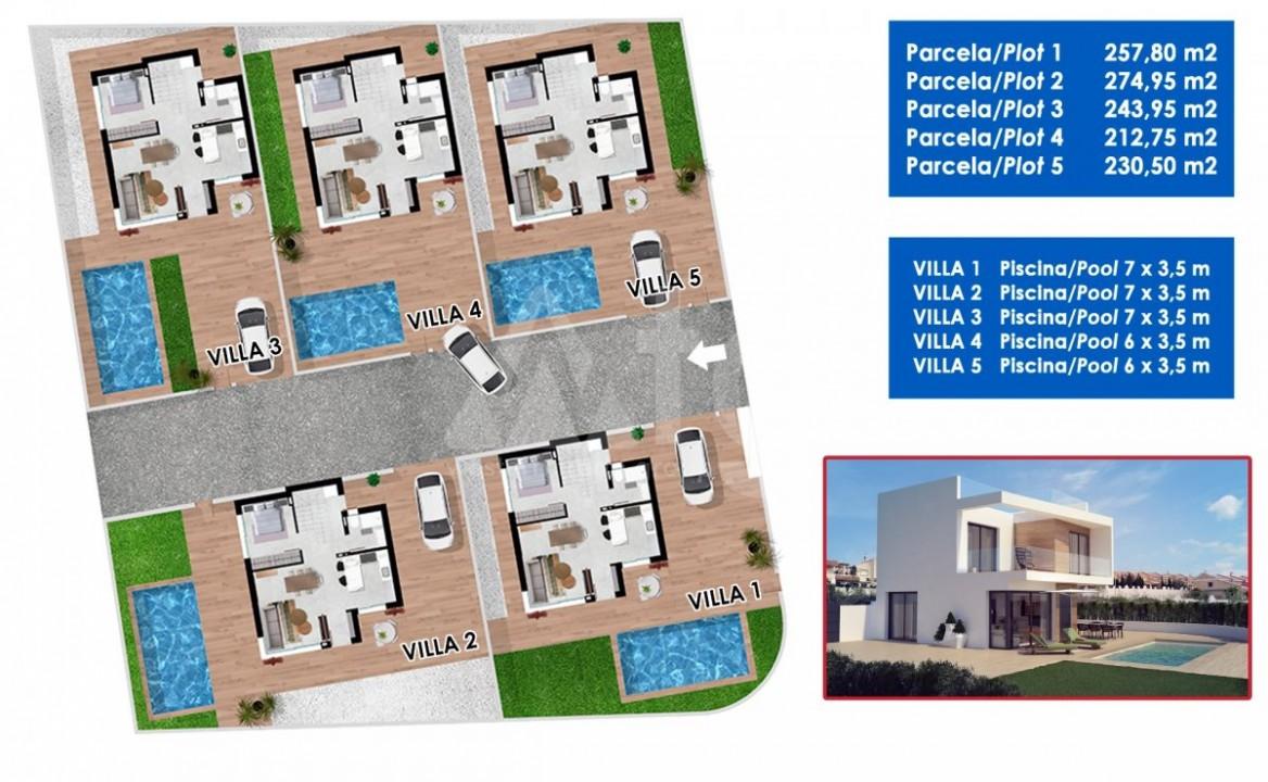2 bedroom Apartment in Torrevieja - W8707 - 5