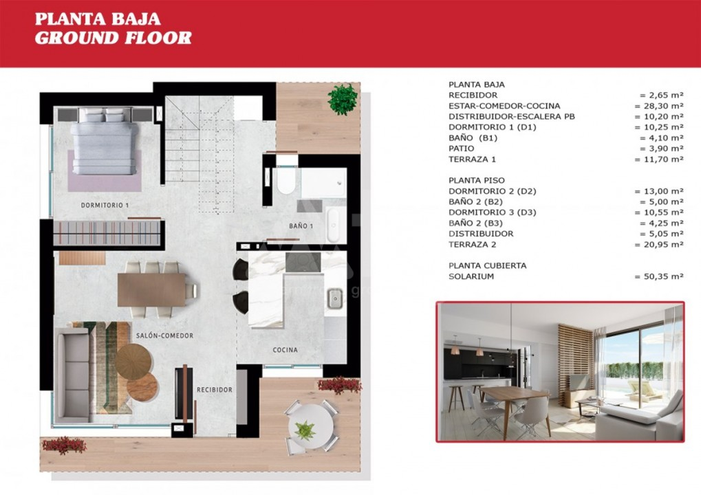 2 bedroom Apartment in Torrevieja - W8707 - 6