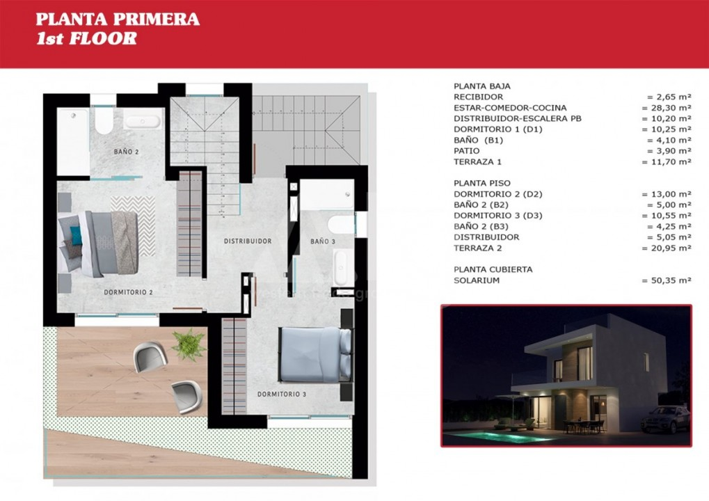 2 bedroom Apartment in Torrevieja - W8707 - 8