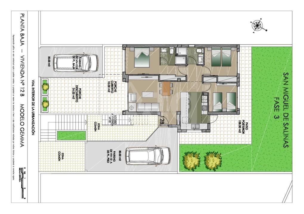 Appartement de 2 chambres à Balsicas - SH7210 - 9