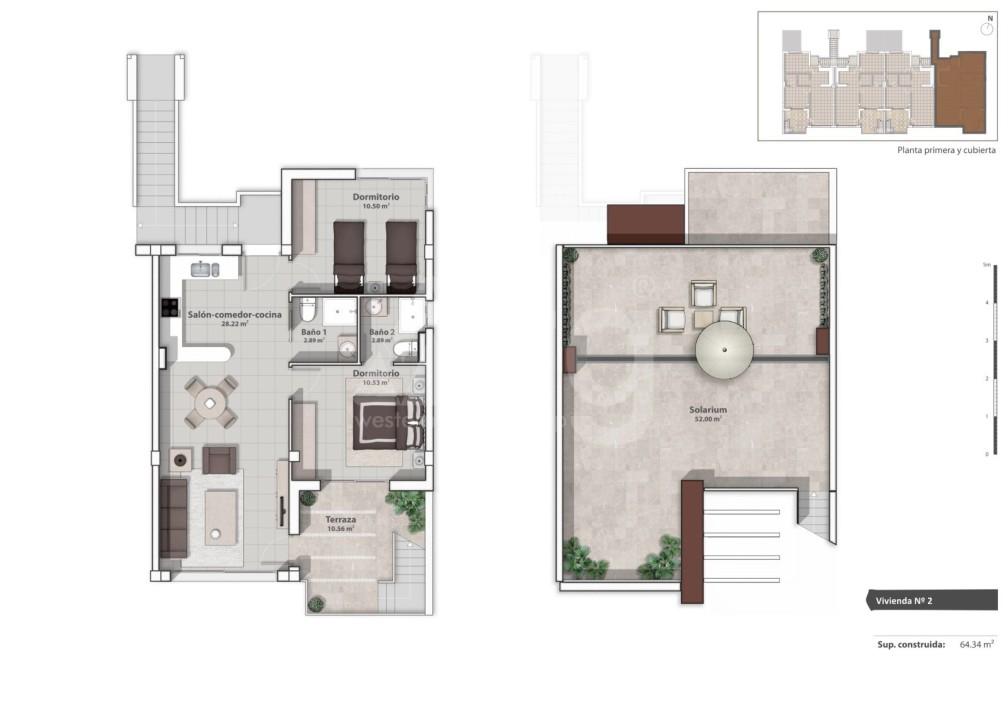Appartement de 2 chambres à La Marina - GM6975 - 6