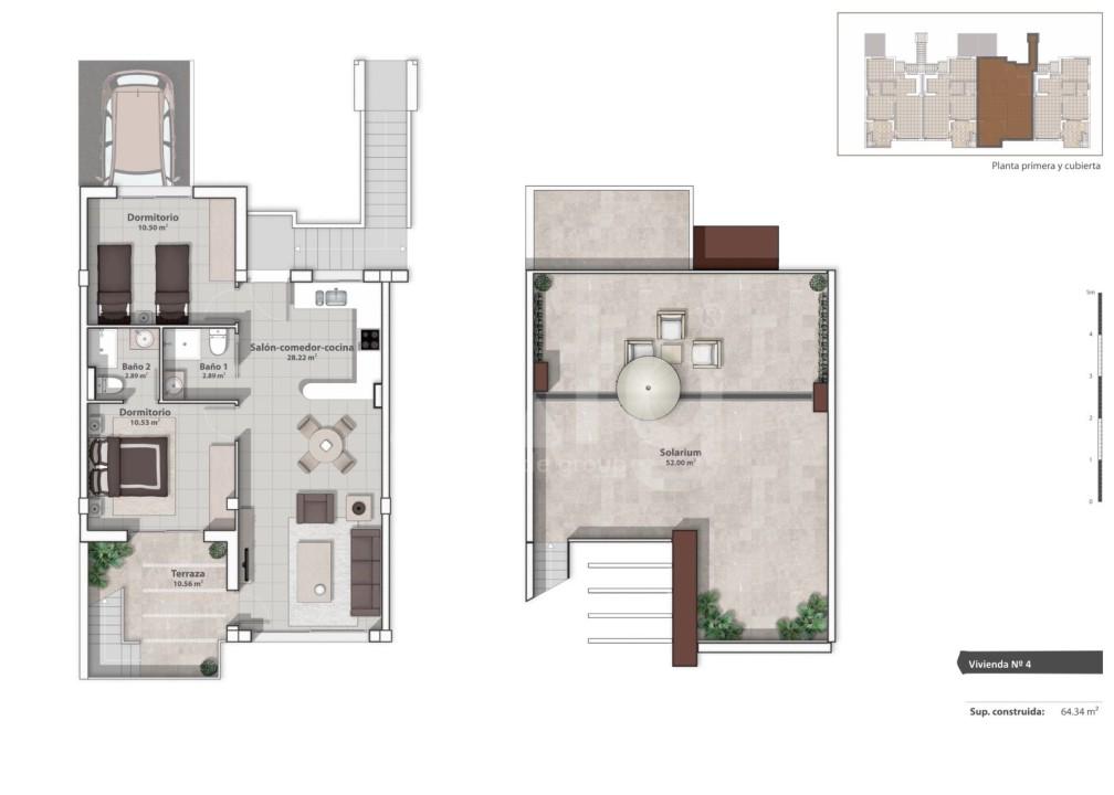 Appartement de 2 chambres à La Marina - GM6975 - 7