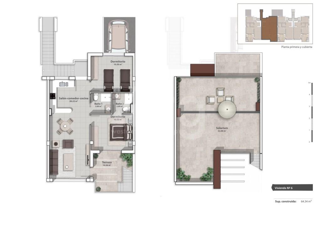 Appartement de 2 chambres à La Marina - GM6975 - 8