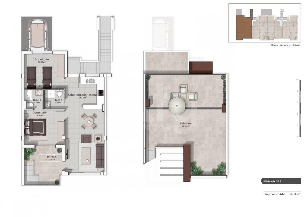 Appartement de 2 chambres à La Marina - GM6975 - 9