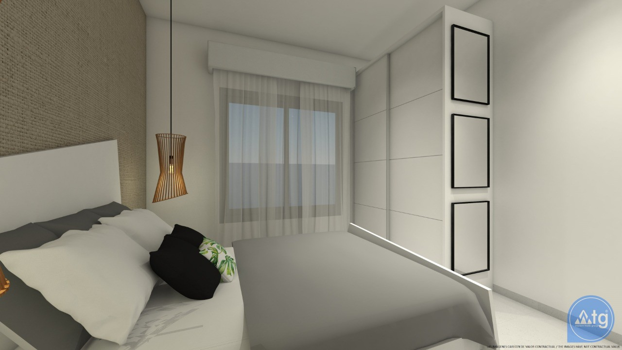 Appartement de 1 chambre à Torrevieja - AG4341 - 11
