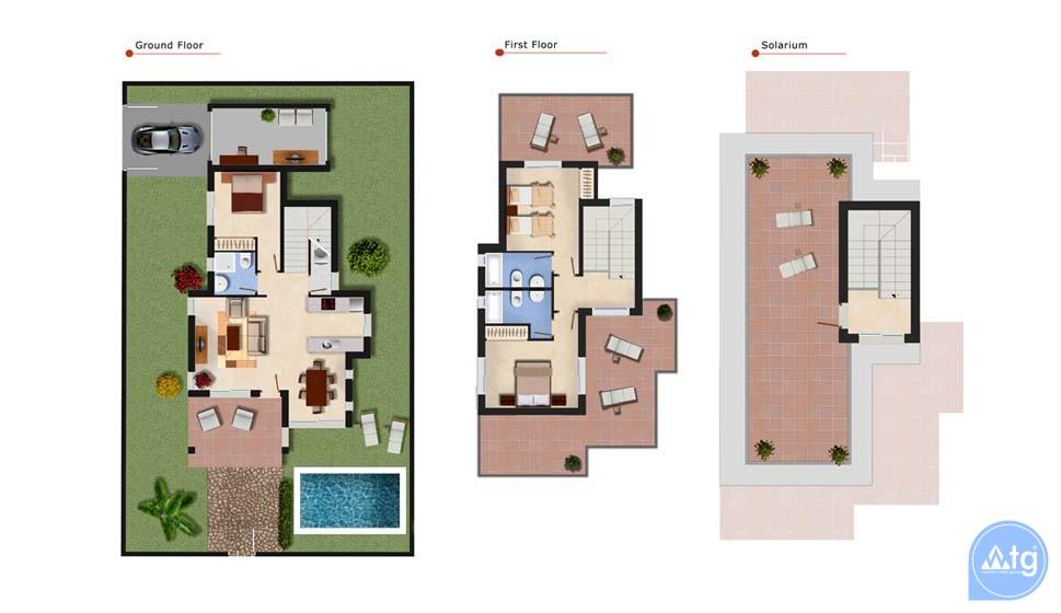 Appartement de 2 chambres à Torrevieja - ARCR0488 - 8