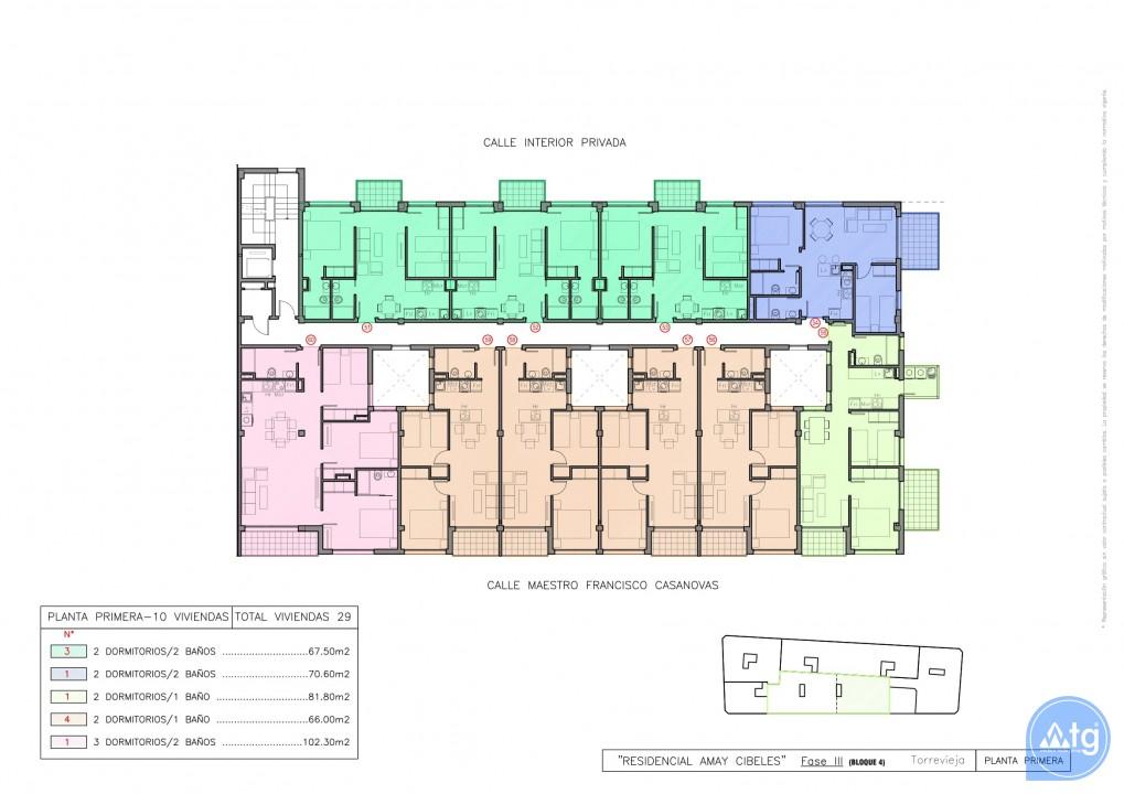 Appartement de 2 chambres à Torrevieja - AGI115573 - 37