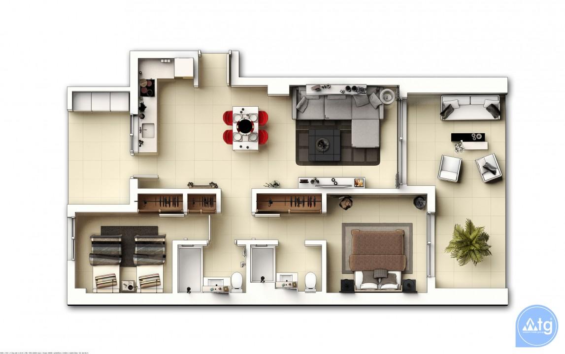 Appartement de 3 chambres à Punta Prima - GD113893 - 43