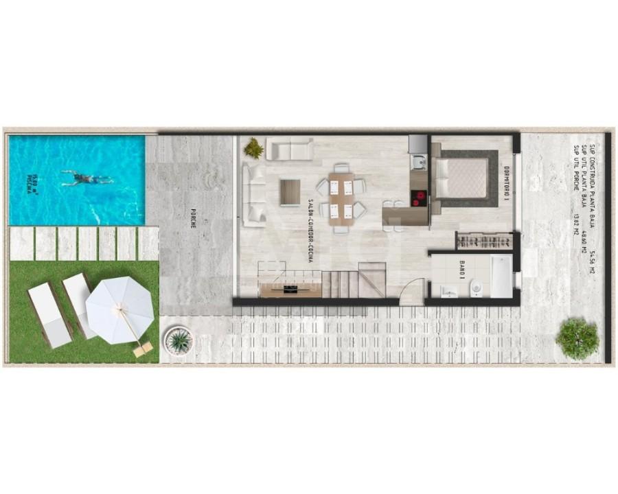 Appartement de 3 chambres à Alicante - IM8262 - 25