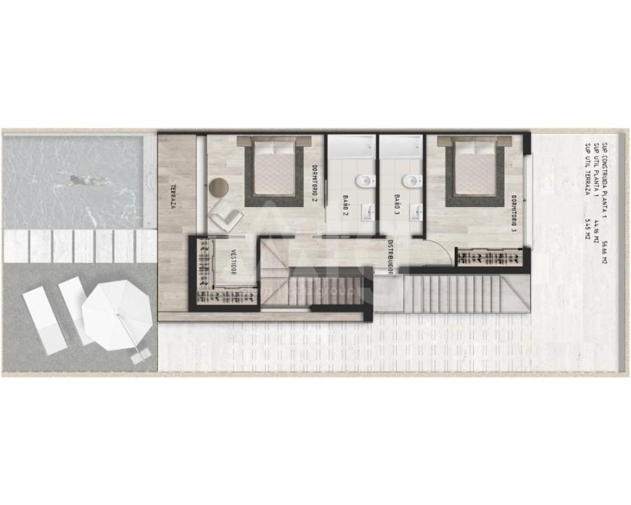 Appartement de 3 chambres à Alicante - IM8262 - 26