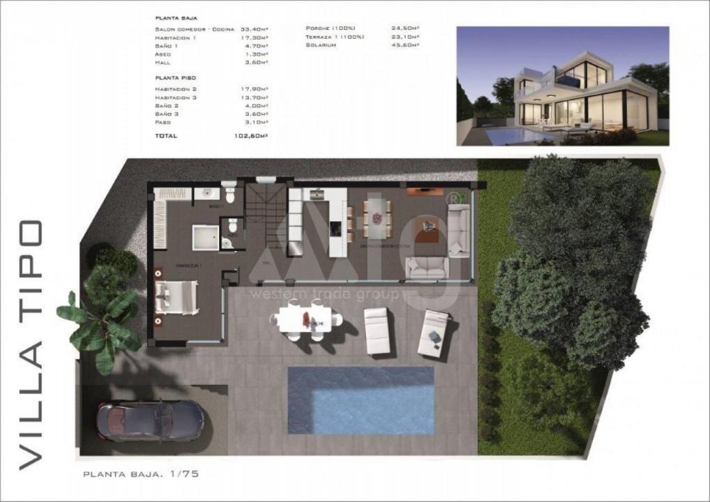 Appartement de 3 chambres à Torrevieja - MS115093 - 3