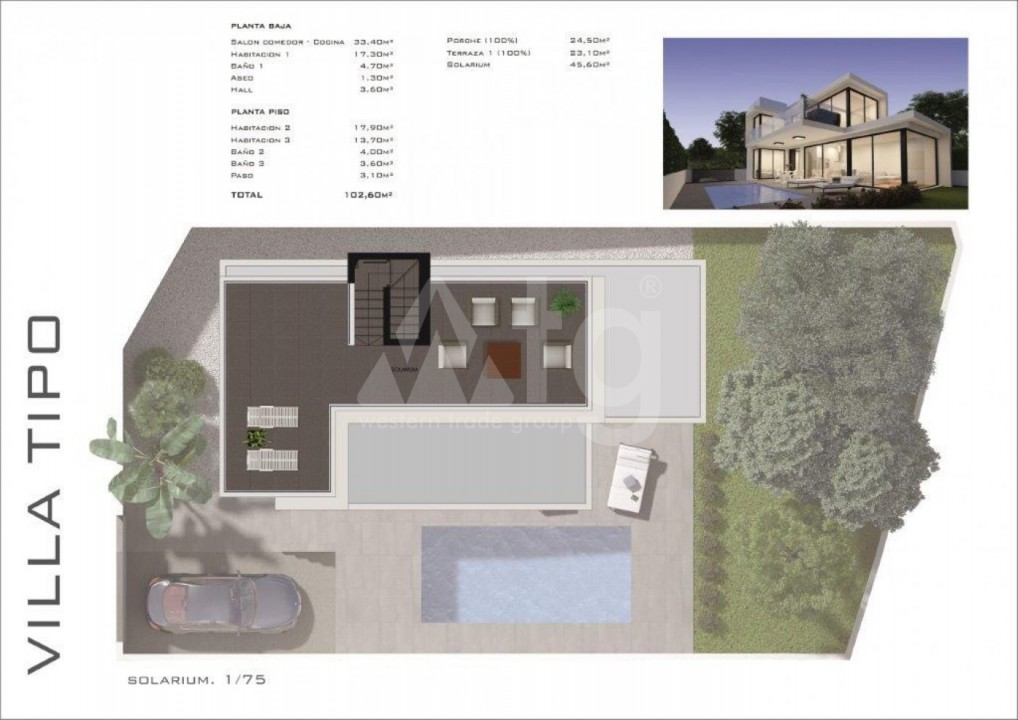 Appartement de 3 chambres à Torrevieja - MS115093 - 5
