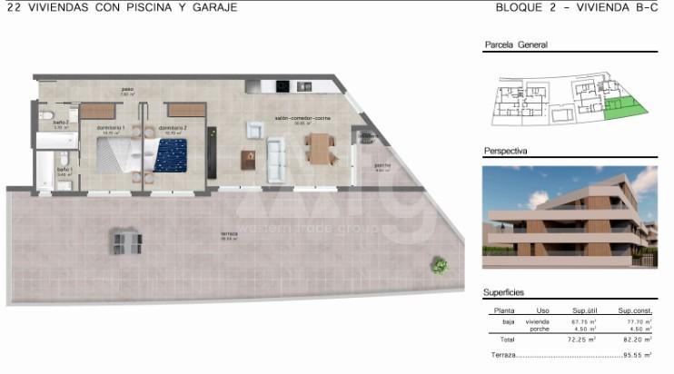 Appartement de 2 chambres à San Javier - GU114733 - 10