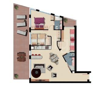 Appartement de 2 chambres à Arenales del Sol - ER7348 - 21