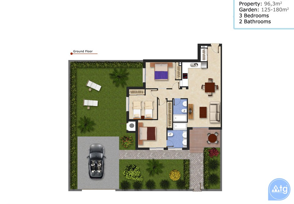 Ático de 2 habitaciones en Ciudad Quesada  - ER7044 - 15