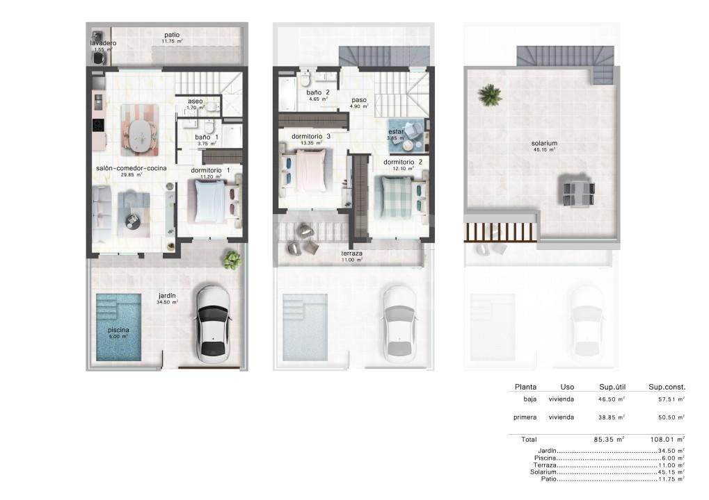 4 bedroom Villa in Ciudad Quesada - AT7260 - 10