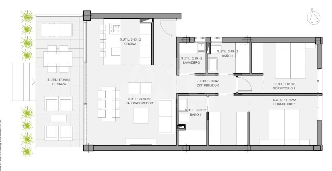 3 bedroom Villa in San Javier  - UR116610 - 13