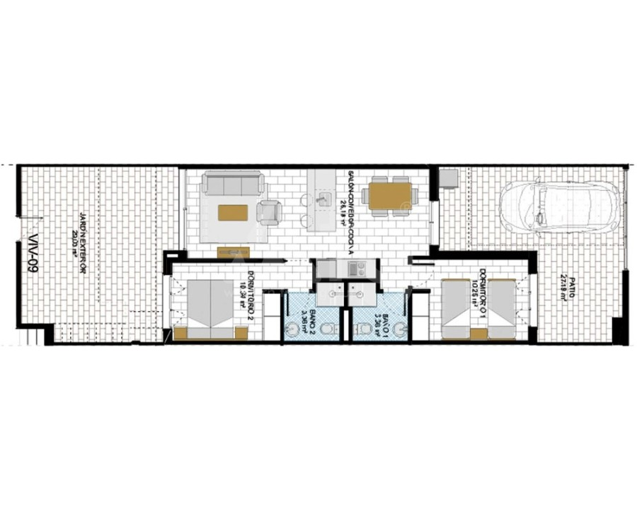 3 bedroom Villa in San Miguel de Salinas - GEO8121 - 4