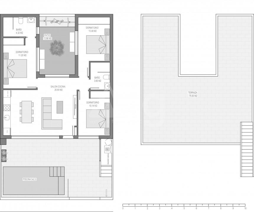 2 bedroom Villa in Santiago de la Ribera  - EF1116749 - 5